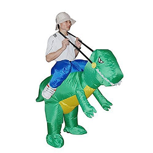 Mocoz Cosplay Adult Halloween Costume Inflatable dinosaur costume