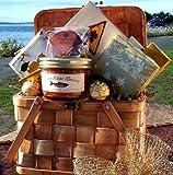 Gourmet Picnic For Two Gift Basket - Heartwarming Treasures