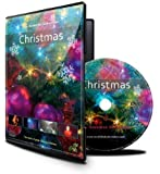 Christmas DVD with Falling Snow/X  Mas Lights/Fireplace and Fireworks