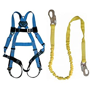 Fall Tech 4505-0010 Safety Harness and Lanyard Kit #PD01098 - Fall ...