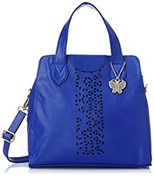 Butterflies Handbag (Dark Blue) (BNS 0455 DBL)