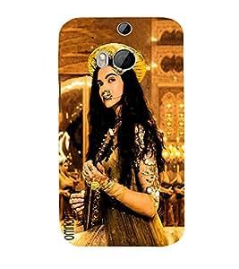 Omnam Bajirao Mastani Deepika Padukone Printed Designer Back Cover Case For HTC One M8