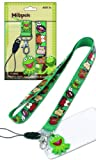 Kermit the Frog and Friends Miss Piggy Animal and More The Muppets Disney Lanyard with Key Chain Clip and Charm & Card Holder