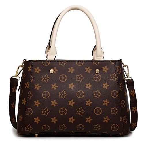 hifish-hb20070-pu-leather-handbag-for-womenelegant-printing-diana-packagemaroon