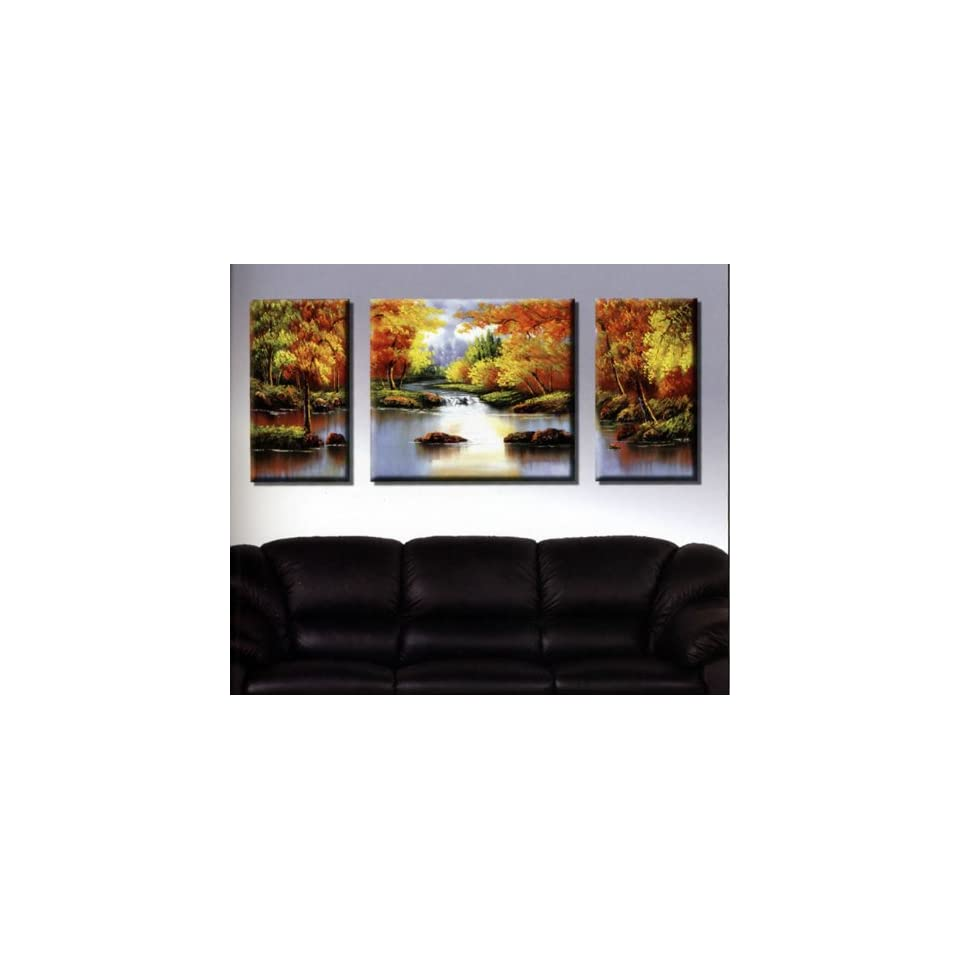 Modern Abstract Art Oil Painting STRETCHED READY TO HANG