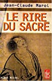img - for Le Rire du sacr  (French Edition) book / textbook / text book