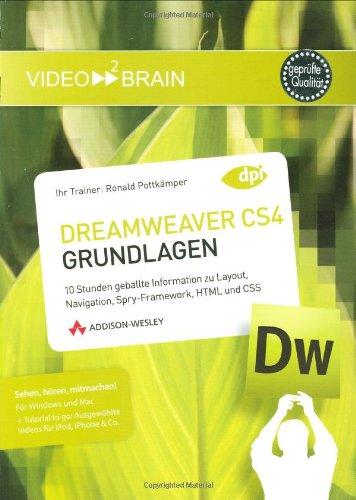 Adobe Dreamweaver CS4 – Grundlagen [import allemand]
