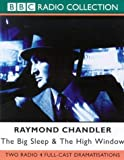 Raymond Chandler The Big Sleep & The High Window - Raymond Chandler - BBC Radio Collection - Audio Cassette - with Ed Bishop: Starring Ed Bishop
