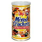 Hapi Mixed Crackers Snack, 6-Ounce Cans (Pack of 5) ~ HAPI