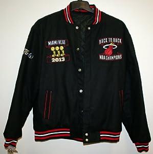 Miami Heat 2013 NBA Finals Champions Reversible Jacket by JH