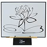 Zen Artist Board, Paint with Water Meditation Art Large Magic Drawing Board with Bamboo Brush