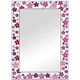 The Attic Mendon Mirror Frame (Glossy Finish, Brown)