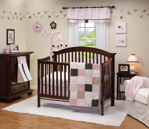 Nursery Bedding For Girls 3748 front