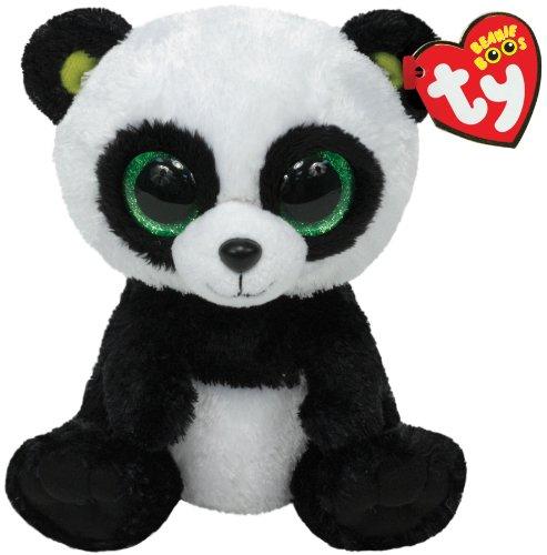 TY - Peluche panda, 15 cm
