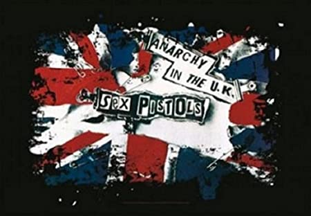 Sex Pistols Anarchy In The UK 新しい 公式 Textile ポスター 75cm x 110cm