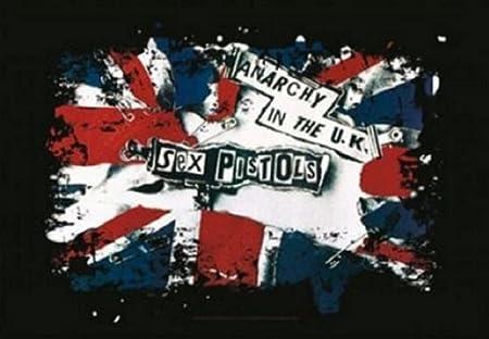 Sex Pistols Anarchy In The UK 新しい 公式 Textile ポスター 75cm x 110cm