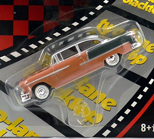 2002 Racing Champions Two-Lane Blacktop 1955 Chevy 1:64 Die Cast Metal front-9988