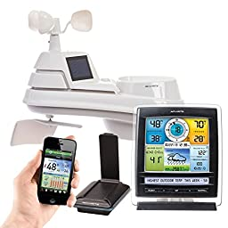 AcuRite 01057RM Pro Color Weather Station with PRO+ 5-in-1 Sensor, Monitor from Anywhere on a Smart Phone, Tablet or Laptop