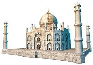 Ravensburger 12564 - Taj Mahal - 216 Teile 3D Puzzle-Bauwerke