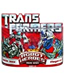 Transformers Robot Heroes Movie Series - Battle Jazz and Megatron