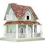 Home Bazaar Hobbit House Birdhouse Mint Green