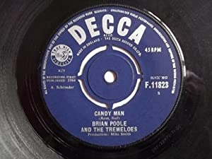 """Candy Man - Brian Poole And The Tremeloes 7"""" 45"""