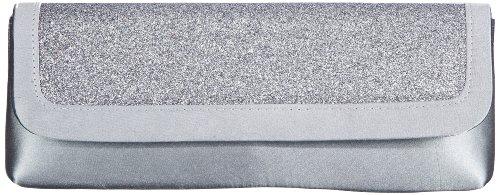 Paco Mena Alabama Clutch Womens Gray Grau (Grau) Size: 29x11x6 cm (B x H x T)
