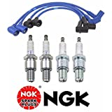 NGK 6700 (RE7CL) 6701 (RE9BT) And 4858 (ZE81) Tune-Up Kit For Mazda RX8