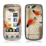 Feather Dance Design Protective Skin Decal Sticker for LG Cookie Plus GS500 Cell Phone
