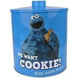 Sesame Street Biscuit Tin, Cookie Monster