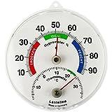 Thermometer / Hygrometer Analoges Kombigerät für Innen oder Außen . Thermohygrometer Made in Germany
