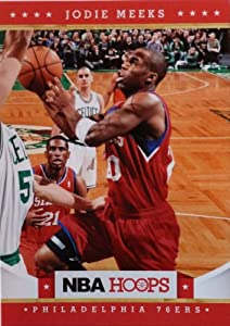 2012-13 Panini Hoops #23 Jodie Meeks Trading Card in a Protective Case - Philadelphia... by Hoops