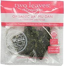 Two Leaves Tea Company Organic Bai Mu Dan White Tea 100 Count
