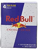 Red Bull Energy Drink, 8.4-Ounce Cans, 4-Count (Pack of 6)