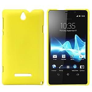 Amazon.com: Lightweight Hard Skin Case for Sony Xperia E (Dual) C1605