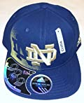 NCAA Notre Dame Fighting Irish 2 In 1 Visor Flex Adidas Hat - L/XL