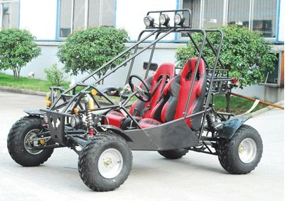 TaoTao ATK-150A 150cc BLACK Gas 4 Stroke Automatic Buggy Go Kart
