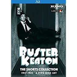 Buster Keaton: The Shorts Collection 1917-1923 [Blu-ray]