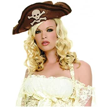 Brown Women's Pirate Hat