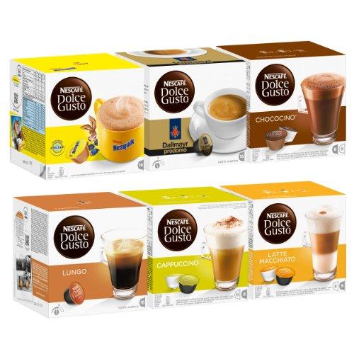 Nescafé Dolce Gusto Family Edition Set, 6 X 16 Capsules front-419627