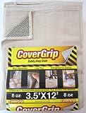 CoverGrip 351208 Safety Drop Cloth, 3.5-Feet by 12-Feet