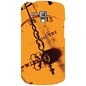 Samsung Galaxy S Duos 7582 Back Cover - Tick Tock Desiner Cases