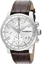[モンブラン]MONTBLANC 腕時計 TIME WALKER UTC シルバー文字盤 自動巻 アリゲーター革 107065 メンズ 【並行輸入品】