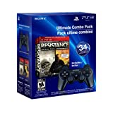 PS3 Resistance 1 and 2 Dual Pack and DualShock 3 - Blackby Sony Computer...