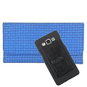 DooDa PU Leather Wallet Flip Case Cover With Card & ID Slots For Micromax Canvas Viva A72