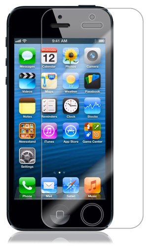 Skinomi TechSkin - Apple iPhone 5 Screen Protector Ultra Clear Shield + Lifetime Warranty (AT&T, Sprint, Verizon Wireless)