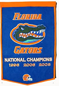 NCAA Florida Gators Dynasty Banner by Winning Streak