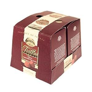 Chocmod Truffettes de France Natural Truffles, Plain, 1000-Gram Boxes (Pack of 2)