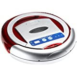 Infinuvo QQ-1 CleanMate 365-Intelligent Robotic Vacuum Cleaner, Red