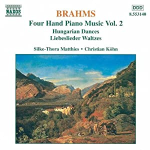 Brahms Four Hand Piano Music Vol2 by Naxos